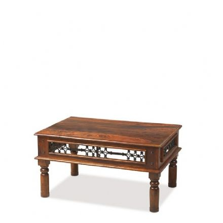 Jali Sheesham Wood Standard Coffee Table